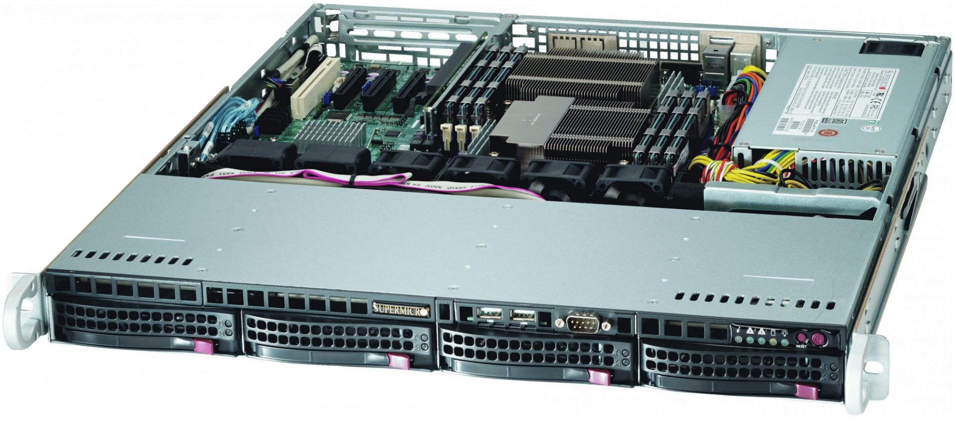 SERVER SUPERMICRO X9DRL-if E5-2620 RACK 1U